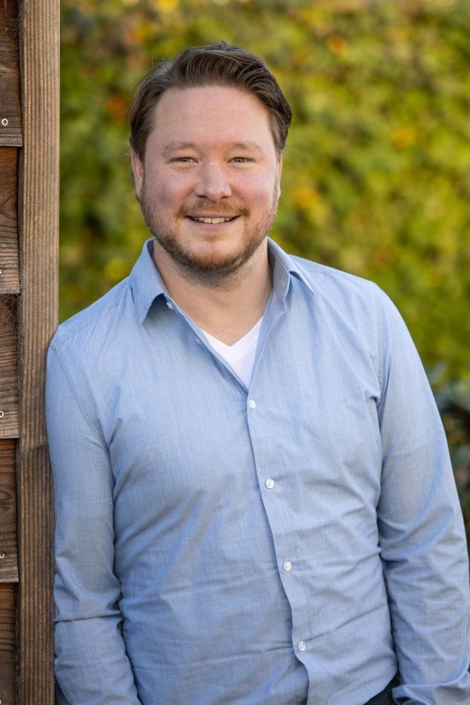 Portretfoto van Mark Jansen